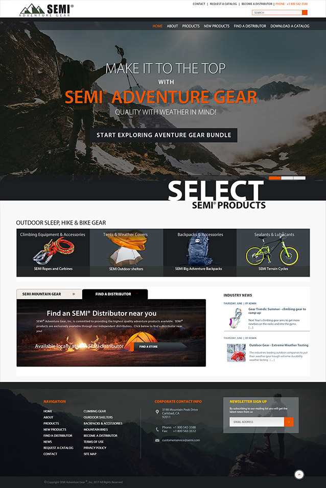 surus builds SEMI home page